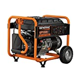Generac 5945, 5500 Running Watts/6875 Starting Watts, Gas Powered Portable Generator, CARB Compliant