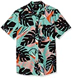 Volcom Mentawais S/S Camisa, Hombre, mysto Green, M