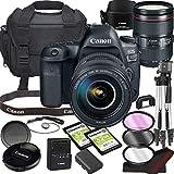 Canon EOS 5D Mark IV DSLR Camera Bundle with 24-105mm L is II USM Lens | Built-in Wi-Fi|30.4 MP Full Frame CMOS Sensor | |DIGIC 6+ Image Processor and Full HD Videos + 64GB Memory(17pcs)
