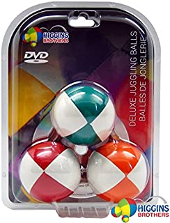 Higgins Brothers Juggling Balls set of 3 and How to Juggle DVD - The Complete Juggling Ensemble by Higgins Brothers