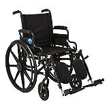 Medline Premium Ultra-Lightweight Wheelchair with...