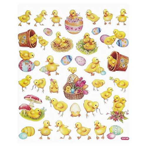 Hobby Design Sticker * Ostern Küken Ostereier * Aufkleber