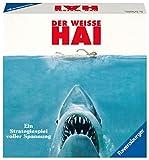 Ravensburger Brettspiel Der weisse Hai - Spannendes Strategiespiel für Erwachsene und Kinder ab 12 Jahren, Spiel zum berühmten Filmklassiker für 2-4 Spieler