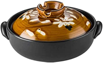 WZWHJ Casserole, high temperature resistance, sturdy and durable, energy saving and time saving, can be used to make soup