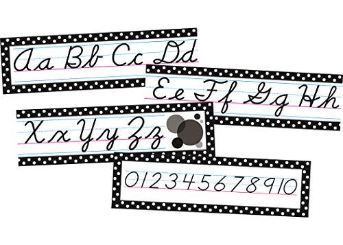 Teacher Created Resources Cursive Mini Bulletin Board, Black (4099) Photo #2