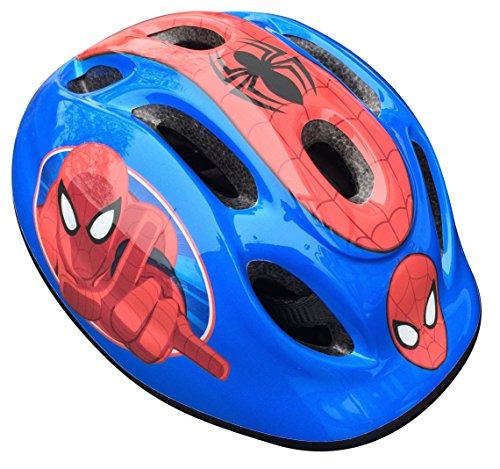 Marvel Unisex Kinderhelm Spider-Man, Mehrfarbig (Blau/Rot), 52-56 cm