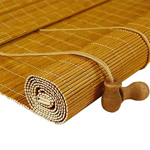 SGMYMX Bambusvorhang Bambusrollos, Markisen für innen und außen Vorhang Schatten (Size : 100x120cm)