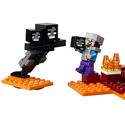 LEGO MINECRAFT WITHER SKELETON FROM SET 21126
