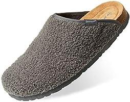 Dunlop Zapatillas Casa Hombre, Pantuflas Hombre De Forro Suave, Zapatillas Hombre con Suela Antideslizante Interior...