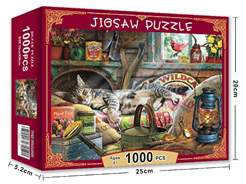 1000 piece puzzles of cats - 4
