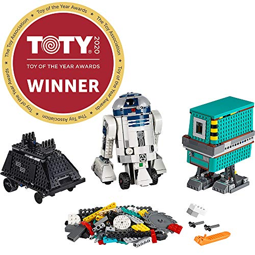 LEGO Star Wars Boost Droid Commander 75253 Learn to Code Educational Tech Toy for Kids, Fun Coding Stem Set with R2 D2 Buildable Robot Toy (1,177 Pieces)