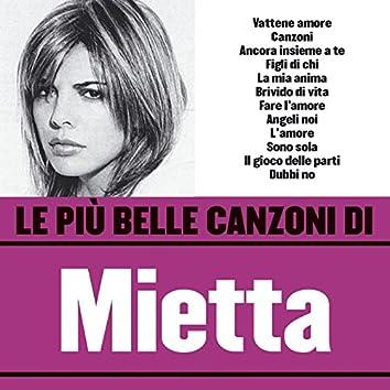 Le più belle canzoni di Mietta