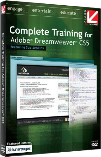 Price comparison product image Class on Demand Complete Training for Adobe Dreamweaver CS5 Educational Training Tutorial DVD-ROM with Sue Jenkins 99906