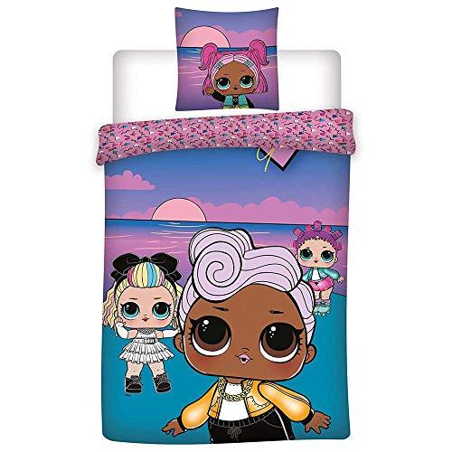 AYMAX S.P.R.L. L.O.L. Suprise! Sunset Kinderbettwäsche 140x200 cm