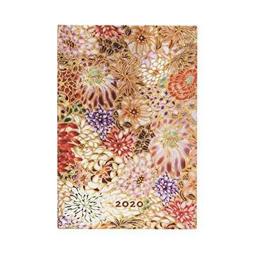 Paperblanks 12-Monatskalender 2020 | Kikka |Horizontal | Mini (140 x 95 mm)