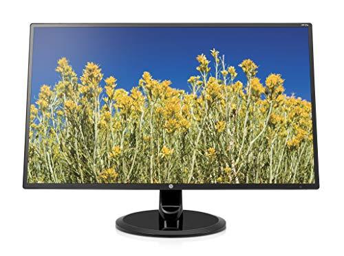 HP 27y (27 Zoll / Full HD) Monitor (VGA, DVI-D, HDMI, 1920 x 1080, 80Hz, Reaktionszeit 5ms) schwarz