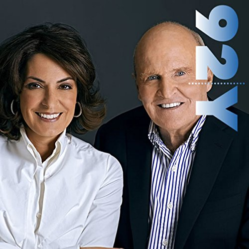 Jack and Suzy Welch at the 92nd Street Y audiobook cover art