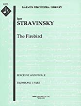 The Firebird (Berceuse and Finale): Trombone 1, 2 and 3 parts (Qty 2 each) [A2133]