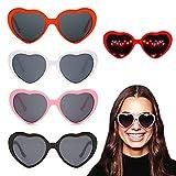 Heart Diffraction Glasses,Heart 3D Light...