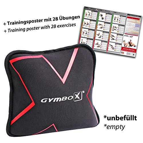 GYMBOX Sand-Pad, Sand-Pad Trainings-Kissen Gewichtssack 2 4 6 8 10 12 KG (8 Kilogramm), unbefüllt