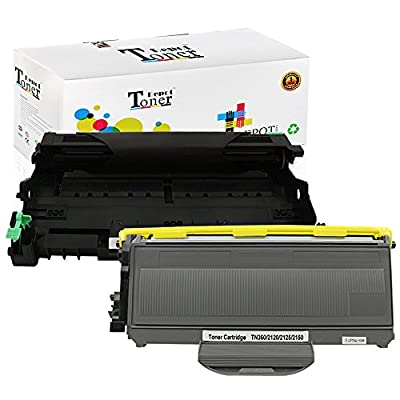1 PACK/2 PACK/4 PACK/10 PACK Compatible with Brother TN360 Toner Cartridge; Black Drum Unit for Brother DR360; 2 Toner + 1 Drum