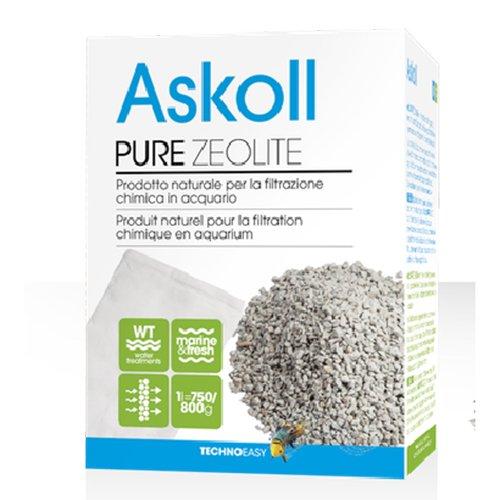 Askoll 922977 Pure Zeolite per filtrazione Chimica in Acquario 1 litro (750/800g)