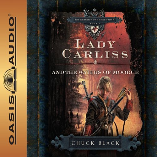 Lady Carliss and the Waters of Moorue audiobook cover art