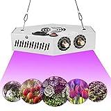 1000W Lámpara de Planta LED Interior, Lámpara Cultivo Ajustable Espectro Completo, Luz para...