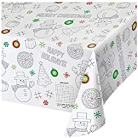 Creative Converting Christmas Paper Activity Tablecloth