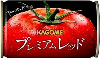 【Amazon.co.jp限定】 カゴメ プレミアムレッド 高リコピントマト50%使用(食塩無添加)お試しセット 160g×12本