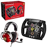 Thrustmaster pack casque T.Racing Scuderia Ferrari Edition + volant Ferrari F1 Wheel Add-on compatible PC / PS4 / Xbox One