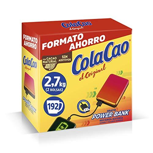 ColaCao Original: con Cacao Natural-2,7kg (Power Bank)