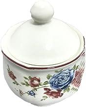 وعاء السكر المستدير من كلايتان كوتج روز قطعة واحدة متعددة الألوان 280 مل