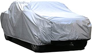 Kayme 6 Layers Truck Cover Waterproof All Weather, Heavy Duty Outdoor Pickup Cover Sun Uv Rain Protection, Universal Fit (Length Up to 228