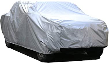 kayme 6 Layers Truck Cover Waterproof All Weather, Heavy Duty Outdoor Pickup Cover Sun Uv Rain Protection, Universal Fit (Length Up to 242