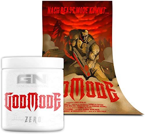 Special Edition GN Laboratories - GODMODE ZERO - Hardcore Pump-Booster Pre-Workout 300g inkl. Poster (GodMode ZERO - Strawberry Lemon)