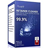 Retainer Cleaning Tablets 120 Tablets - 4 Months Supply, Mouth Guard Cleaner, Remove Stains and Bad Odor, Prevent Brace Discoloration, Mint Flavor