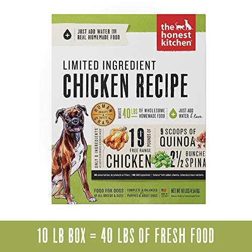 Honest Kitchen Limited Ingredient Chicken Dog Food...