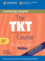 The TKT Course Modules 1, 2 and 3 Online (Trainee Version Access Code Card)