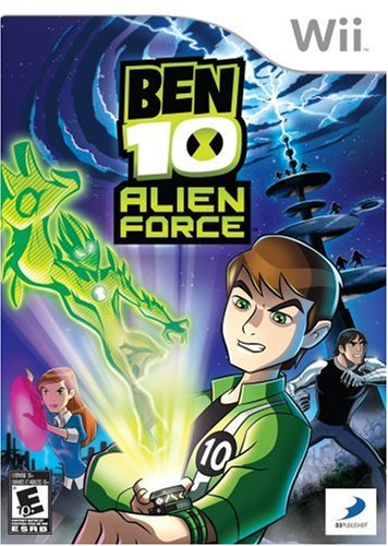 D3Publisher Ben 10: Alien Force, Wii, ESP Nintendo Wii Español vídeo - Juego (Wii, ESP, Nintendo Wii, Acción, Modo multijugador, E10 + (Everyone 10 +))