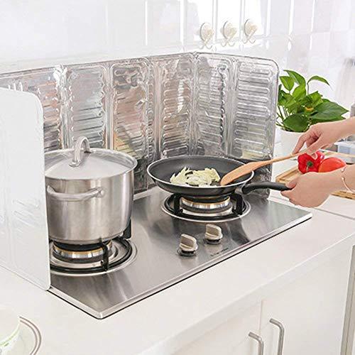PULABO Anti Splatter Shield Guard Küche Bratpfannenöl Spritzschutz Abdeckung Anti Splatter Guard 84 x 32,5 cm Robust und kostengünstig dauerhaft