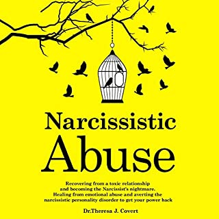 Narcissistic Abuse     Recovering from a Toxic Relationship and Becoming the Narcissist's Nightmare. Healing from Emotional Abuse and Averting the Narcissistic Personality Disorder to Get Your Power Back              By:                                                                                                                                 Dr. Theresa J. Covert                               Narrated by:                                                                                                                                 Trei Taylor                      Length: 1 hr and 22 mins     Not rated yet     Overall 0.0