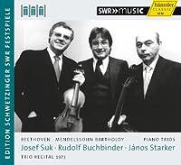 Mendelssohn Bartholdy; Beethoven: Trio Recital 1973 by Rudolf Buchbinder