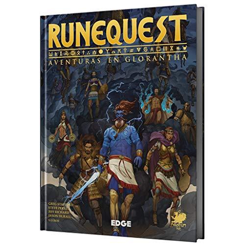 Edge Entertainment RuneQuest - Juego de rol Español, EECHRQ01