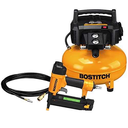 BOSTITCH Air Compressor with Brad Nailer Combo Kit