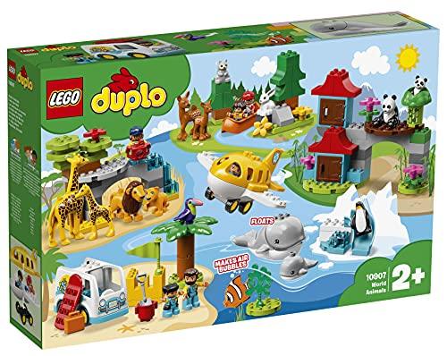 LEGO10907DuploAnimalesdelMundo,JuguetedeConstrucciónparaNiñ...