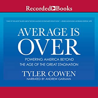 Average is Over audiobook cover art
