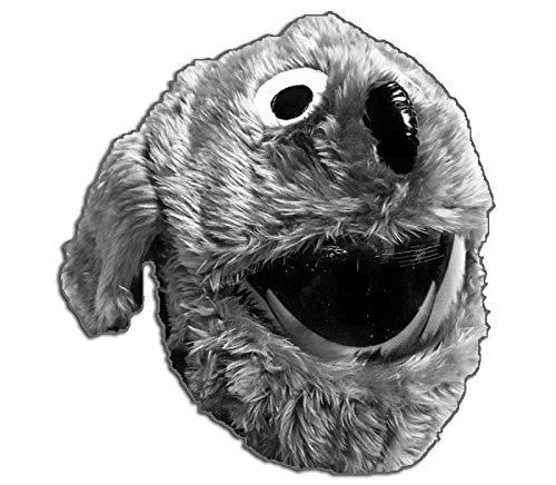Grau hund-Helmabdeckung für Motorradhelme