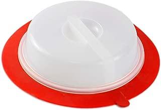 Samincom (1 Piece) Food Fresh Cover Leftover Lid, Stackable Air-tight Plate Topper, Food-grade, BPA-Free & Dishwasher-Safe