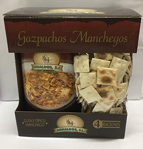 Gazpachos Manchegos 4 Raciones